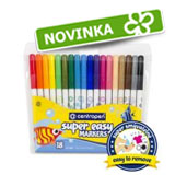 super easy markers Centropen 2580