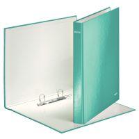 Poradač 2-kruž. Leitz WOW, A4+, 25mm, ľadová modrá - výpredaj