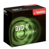 DVD-R Imation 4,7 GB 16x slim obal / 10 ks - dopredaj
