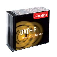 DVD+R Imation 4,7 GB 16x slim obal / 10 ks  - dopredaj