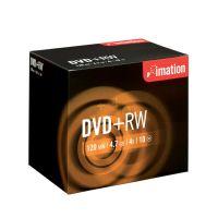 DVD+RW Imation 4,7 GB / 4x / 10 ks - akcia