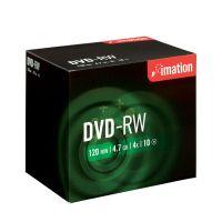 DVD-RW Imation 4,7 GB 4x klasický obal / 10 ks - dopredaj