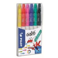 PILOT FriXion Colors, sada 6 ks/bal