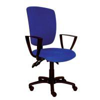 Stolička MATRIX nastaviteľná s podúrčkami - modrá