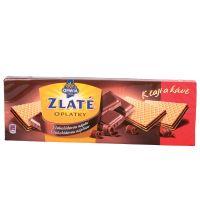 Zlaté oblátky OPAVIA, čokoládové