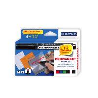 Značkovač CENTROPEN 8566 sada 4 farby + 1 zadarmo - dopredaj