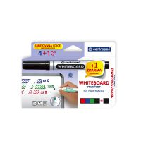 Značkovač CENTROPEN 8559, stierateľný sada 4 farby + 1 zadarmo