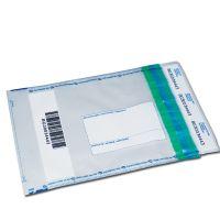 Obálky bezpečnostné S1 transparentné