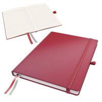 Zápisník Leitz Complete A4, štvorček, červený