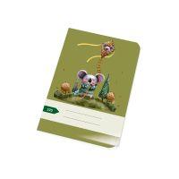 Zošit 525 bezdrevný papier (A5)-štvorčekový / 20 listov