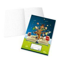 Zošit 4210 bezdrevný papier (A4) - štvorčekový / 20 listov