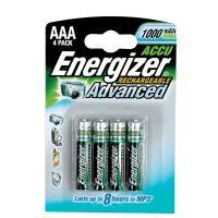 Batérie AAA Energizer dobíjacie 4 ks/bal.