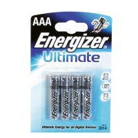 Batérie AAA mikrotužková Energizer Ultimate / 4 ks