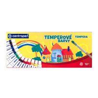 Temperové farby Centropen  9550/12 farieb