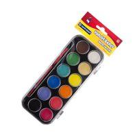 Vodové farby centropen 9540/12 sýtych farieb