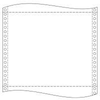 """Tabelačný papier 39 x 12"""" (1+1) NCR"""