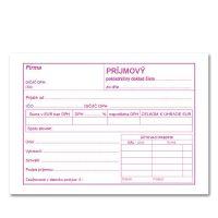 Príjmový pokladničný doklad A6 s DPH – samoprepis – 100 listov