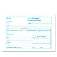 Výdavkový pokladničný doklad A6 s DPH – 100 list.