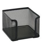 Drôtený stojan na špalík, čierny