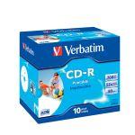 CD-R Verbatim 700 MB, 52x - klasický obal / 10 ks