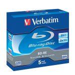 BD-RE Verbatim 25 GB 1-2x prepisovateľný / 5 ks