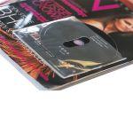 Vrecká na CD/DVD lesklé, samolepiace, bez klopy