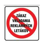 Etikety Info- Zákaz vkladania reklamy