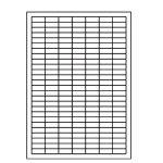 Etikety PRINT 25,4 x 10 odnímateľné