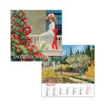 Kalendár N Impresionisti štvorec 2022