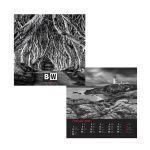 Kalendár N Black & White 2022