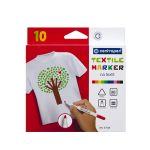 Značkovač na textil CENTROPEN 2739 sada 10 farieb