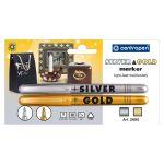 Univerzálny značkovač CENTROPEN 2690/2 GOLD+SILVER