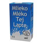 Mlieko trvanlivé 1 l, polotučné