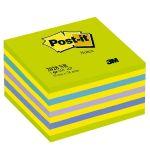 Bloček samolepiaci 76x76 Post-it kocka neón/zelený/450 l