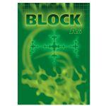 Poznámkový blok bezdrevný 50l. - A6 štvorčekový