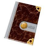 Záznamová kniha A4, 100 listov, register štvorčeková