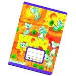 Zošit 512 bezdrevný papier (A5) s 2 pomocnými linajkami /10 listový