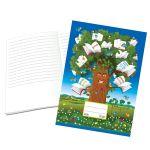 Zošit 423 so špeciálnou liniatúrou, bezdrevný papier (A4)/ 20 listový