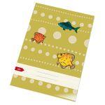 Zošit 424 bezdrevný papier (A4)-linajkový / 20 listov
