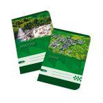 Zošit 545 bezdrevný papier (A5)-štvorčekový / 40 listov