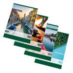 Zošit 565 bezdrevný papier (A5)-štvorčekový / 60 listov