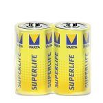 Batéria R14- (malý monočlánok, C), 2 ks