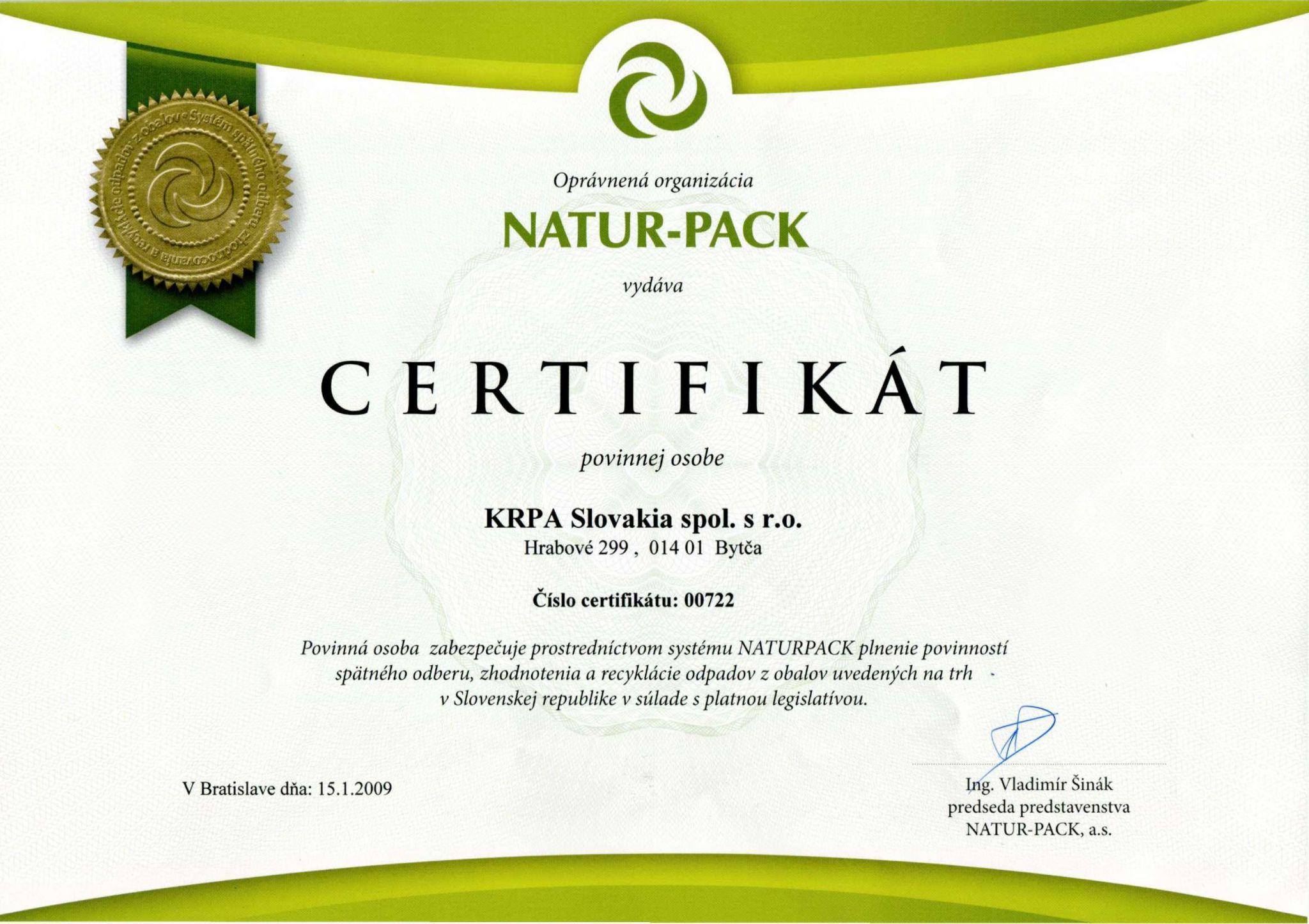 natru - pack