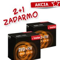 DVD RW 2+1 zadarmo