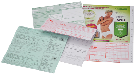 poukážky a šeky